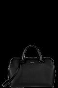 Plume Elegance Sac épaule Noir