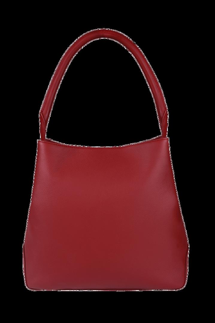 Plume Elegance Hobo tas Ruby   3