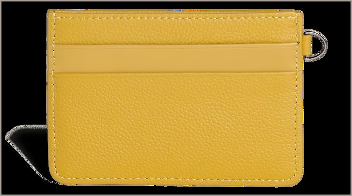 Plume Elegance Creditcardhouder Mustard | 3