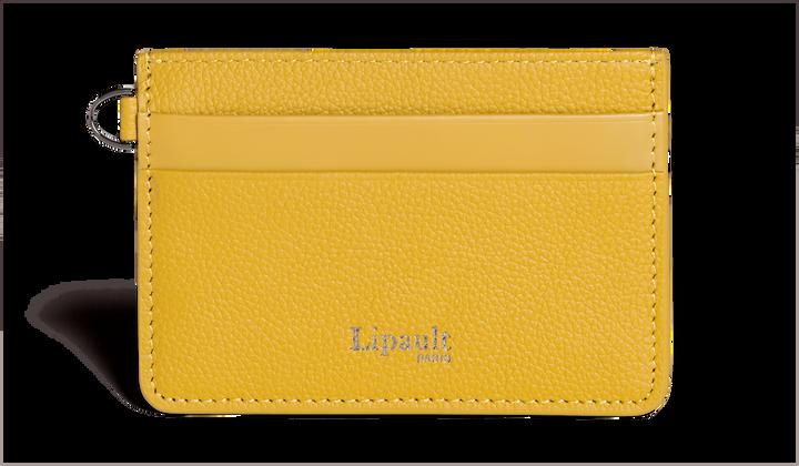 Plume Elegance Creditcardhouder Mustard | 1