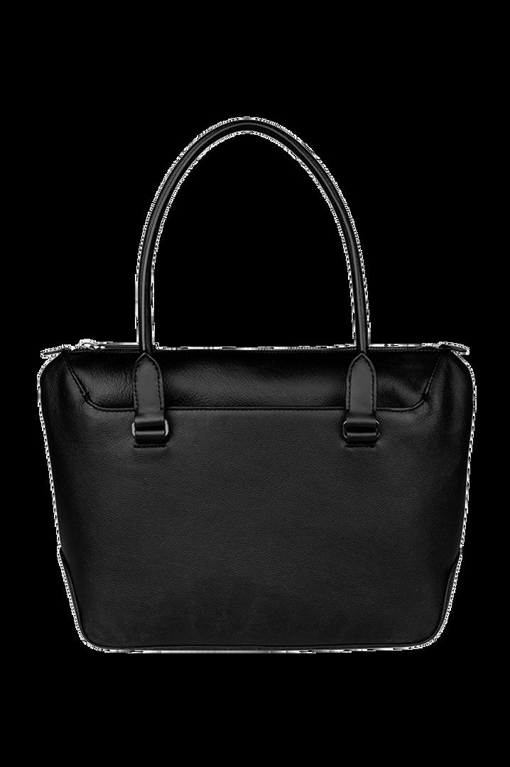 Plume Elegance Sac shopping Noir   3