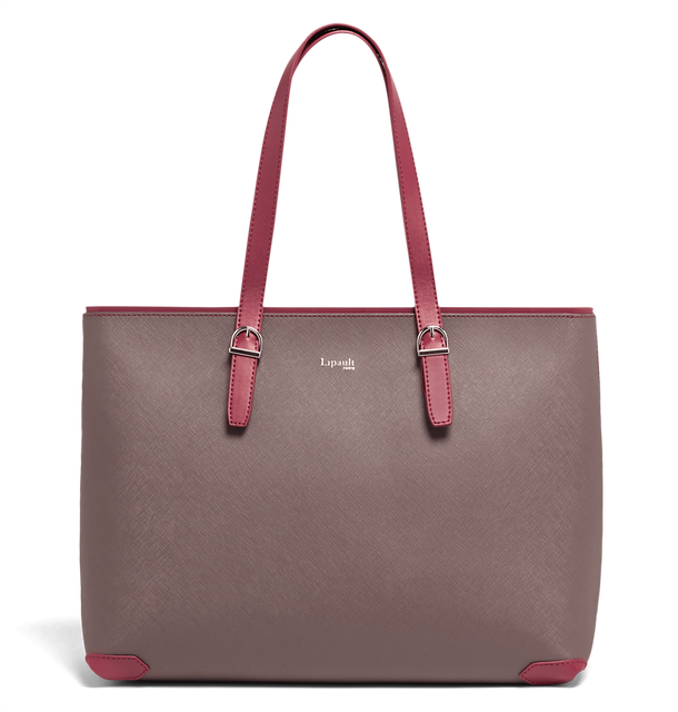 Variation Shopper Grey/Raspberry