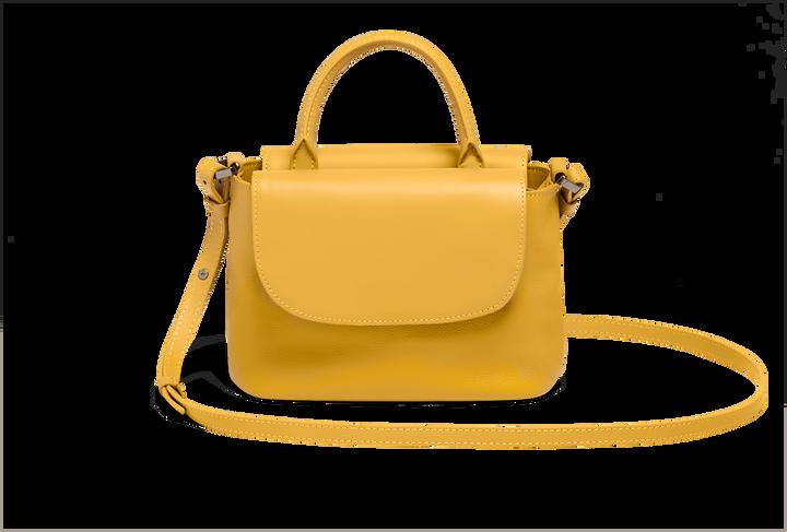 Plume Elegance Handtas Mustard | 3