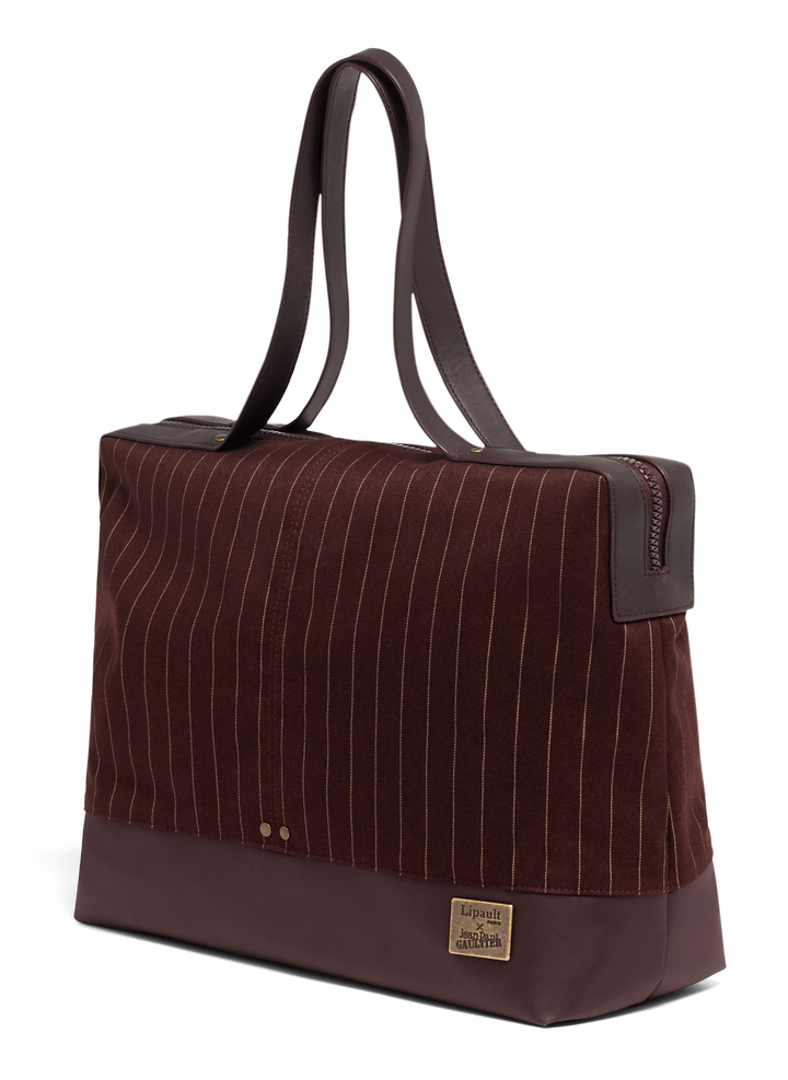 J.P. Gaultier Collab Ampli Shopper Burgundy | 3