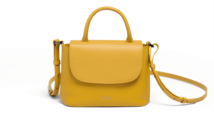 Plume Elegance Handtas Mustard | 1