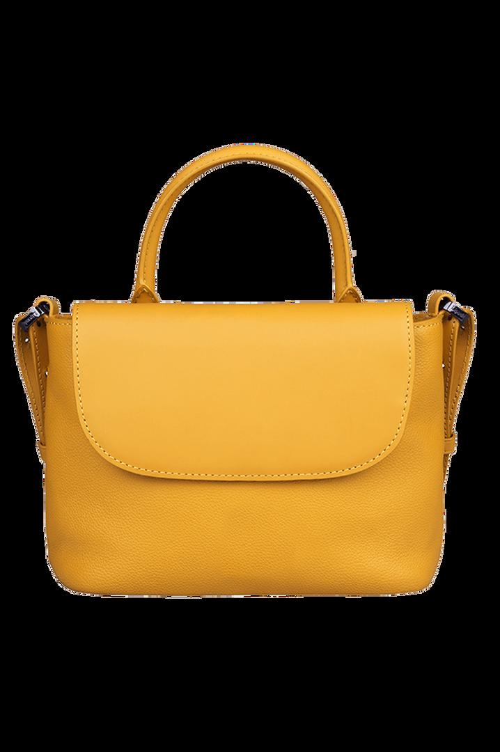 Plume Elegance Handtas Mustard | 2