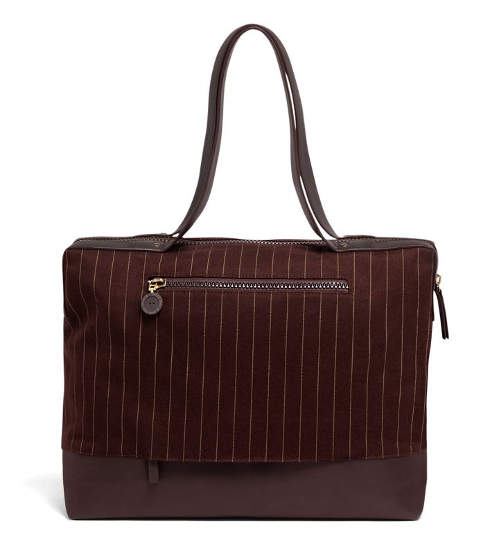J.P. Gaultier Collab Ampli Shopper Burgundy | 2