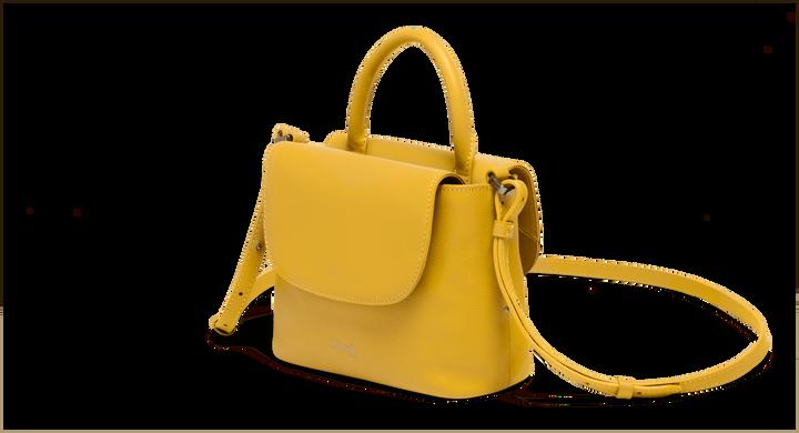 Plume Elegance Handtas Mustard | 4