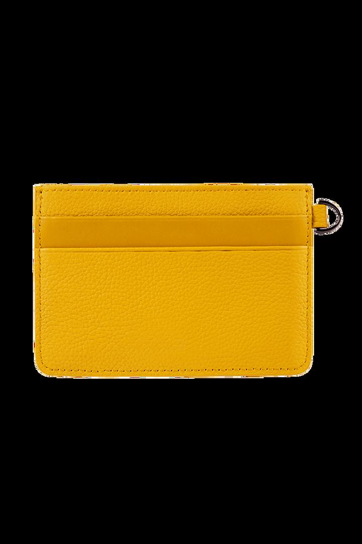 Plume Elegance Creditcardhouder Mustard   3