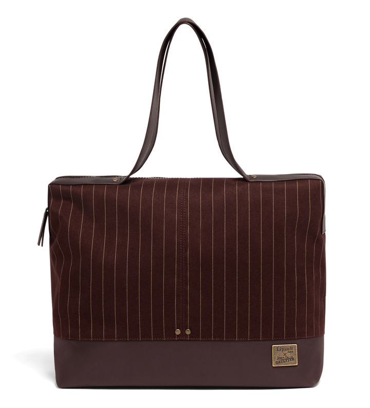 J.P. Gaultier Collab Ampli Shopper Burgundy | 1