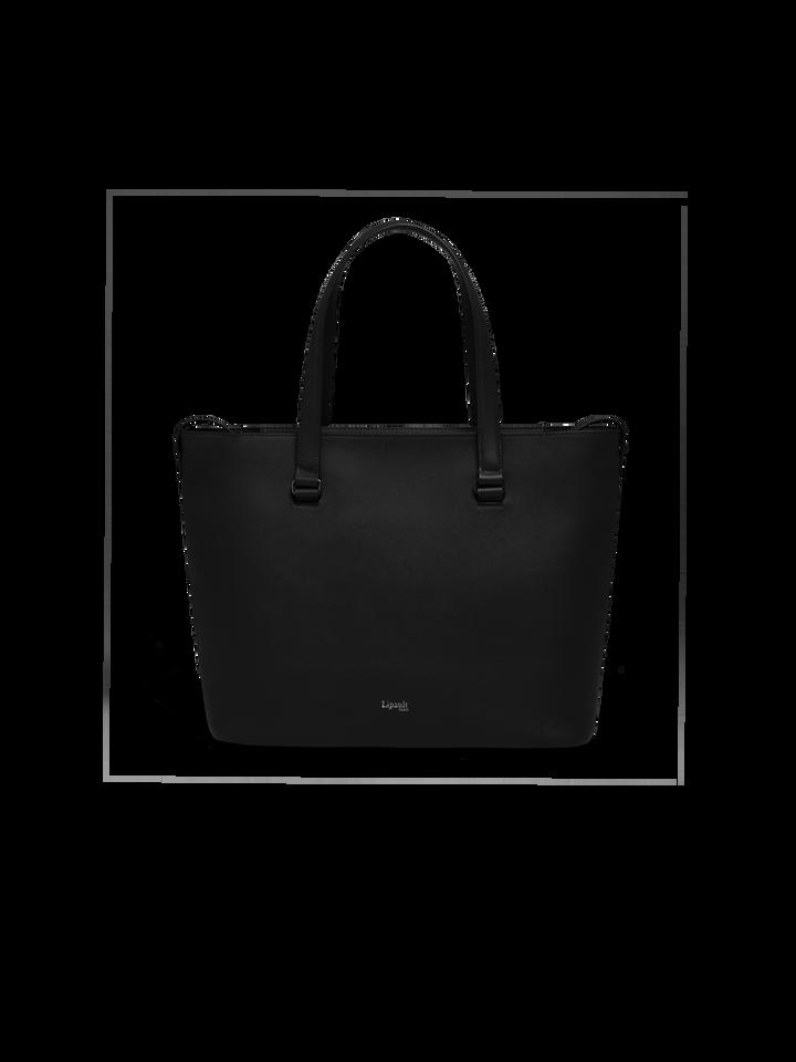 Plume Elegance Sac shopping L Noir   1