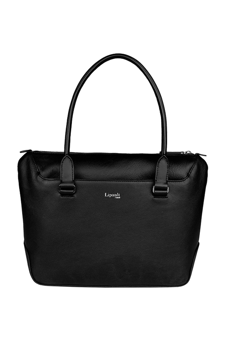 Plume Elegance Sac shopping Noir   1