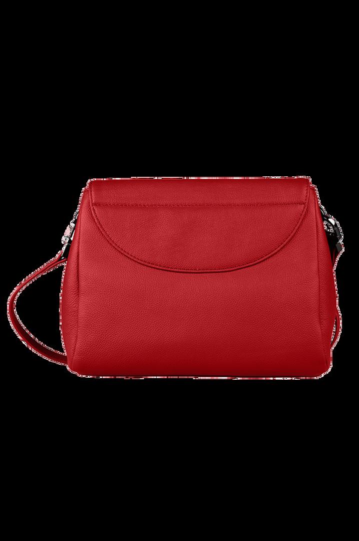 Plume Elegance Sacs porté croisé Rouge   3