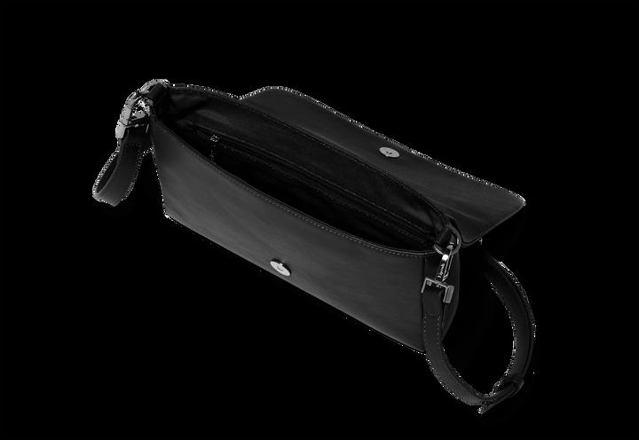 Plume Elegance Pochette Noir   2