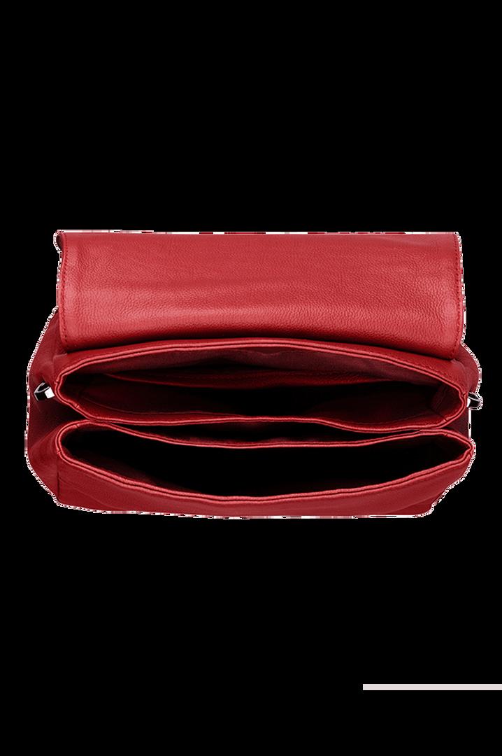 Plume Elegance Sacs porté croisé Rouge   2