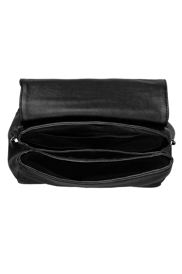 Plume Elegance Sacs porté croisé Noir | 2