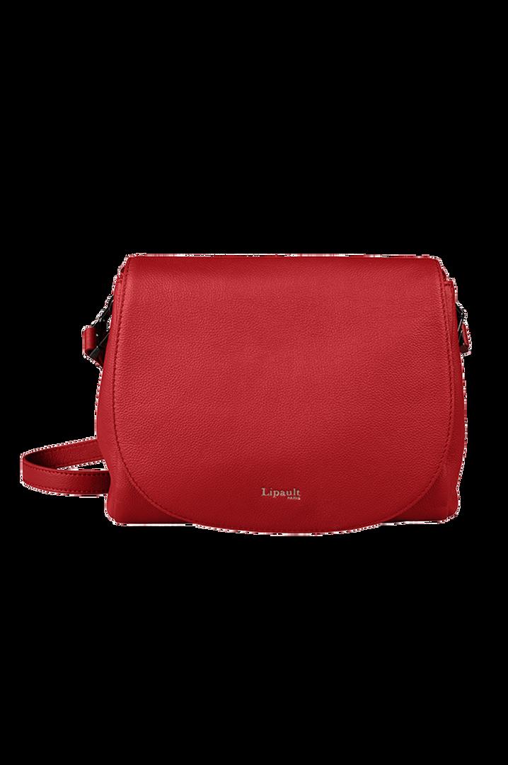 Plume Elegance Sacs porté croisé Rouge   1
