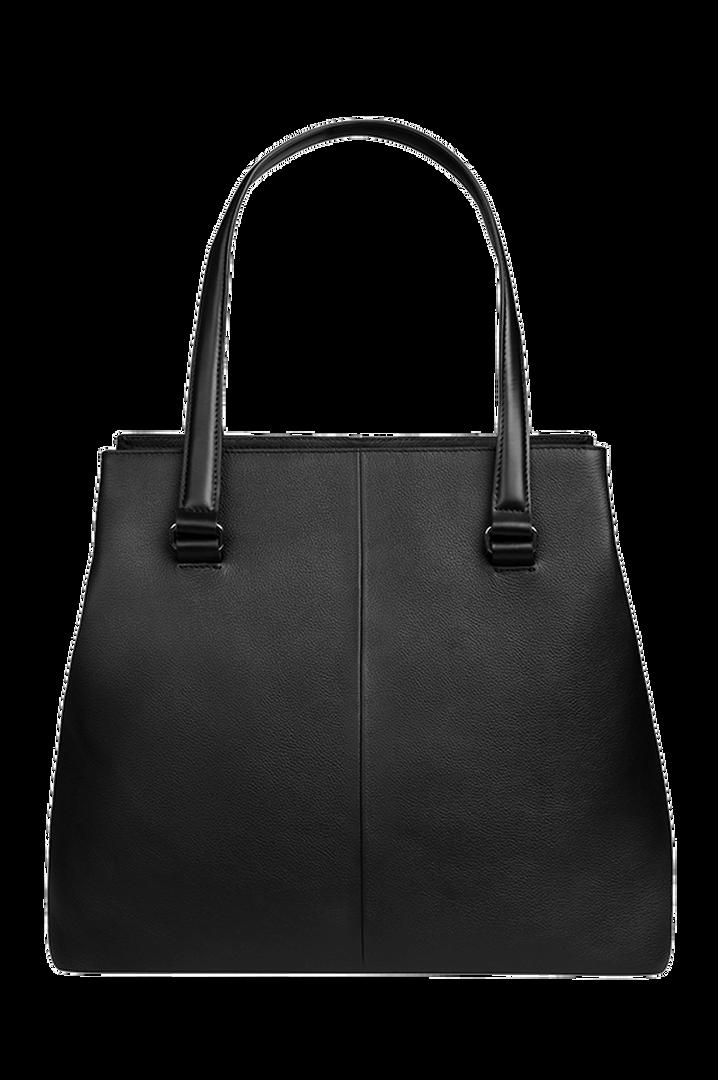 Plume Elegance Sac shopping L Noir   2