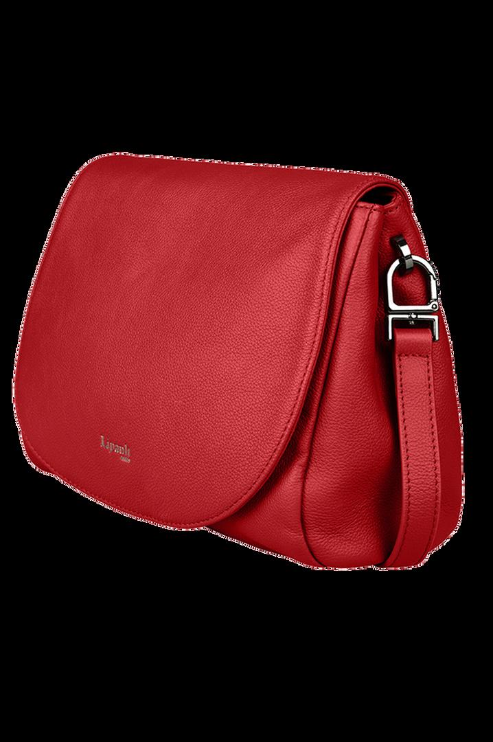 Plume Elegance Sacs porté croisé Rouge   4