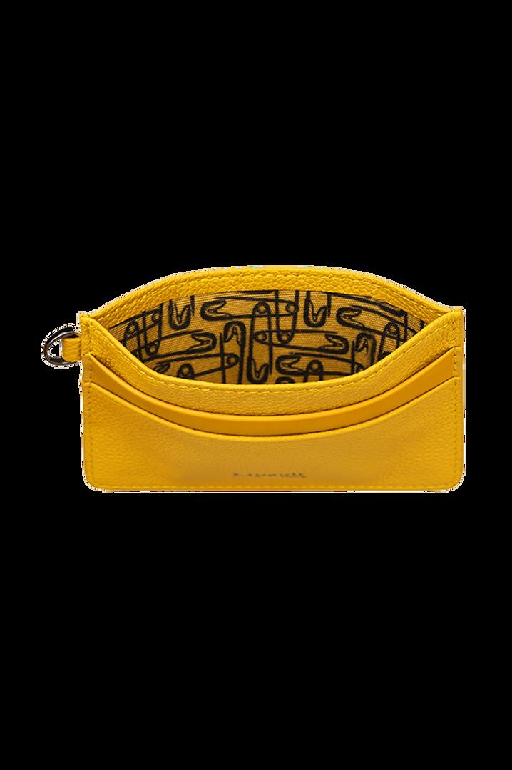 Plume Elegance Creditcardhouder Mustard   2